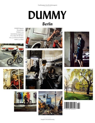 Dummy Magazin Cover Thema: Berlin