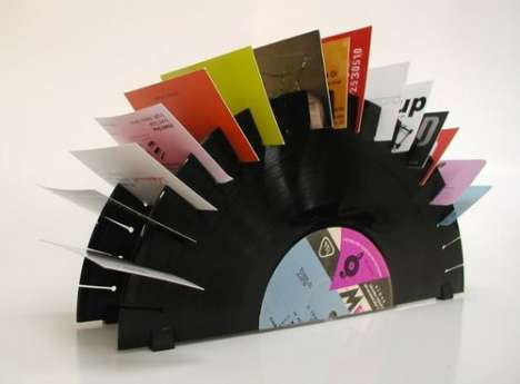 Vinyl-Karteikasten