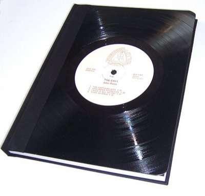 Vinyl-Notizbuch (z.B. zum Notieren der persönlichen Top 1000)