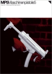 MP5 Paper Gun Model Kit