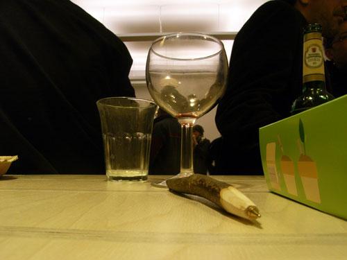 Leere Gläser