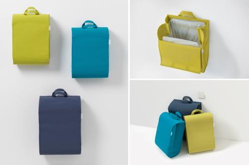 Das Trennt-Set der BSR in gelbgrün, türkis & blau