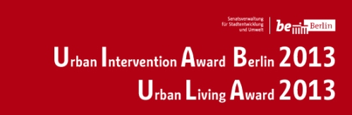 Urban Intervention Award 2013